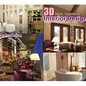 3d interior rendering: 3D Interior Design View & still image 3d rendering