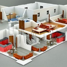 3D Floor Plan: 3D Floor Plan Architectural Animation